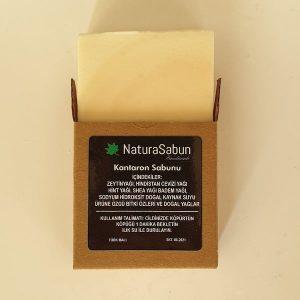 natura sabun kutulu kantaron sabunu