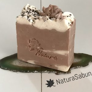 cafe creme doğal sabun