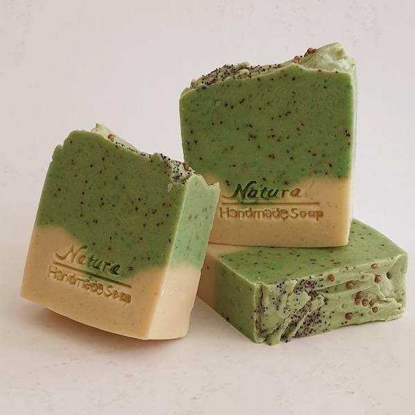 yeşil nane sabunu
