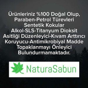 kimyasal içermeyen doğal sabun
