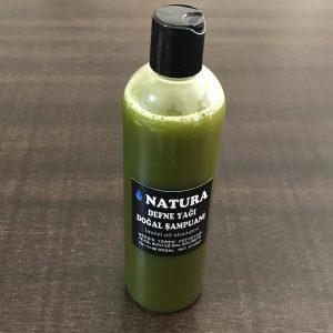natura doğal defne yağı şampuanı