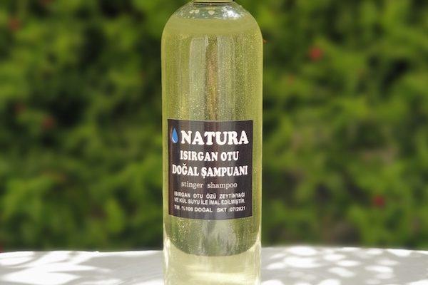 natura doğal ısırgan otu şampuanı