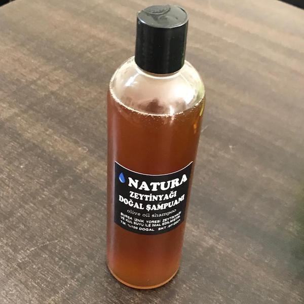 natura zeytinyağı doğal şampuanı