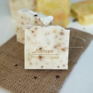 antibakteriyel egzama karşıtı doğal sabun